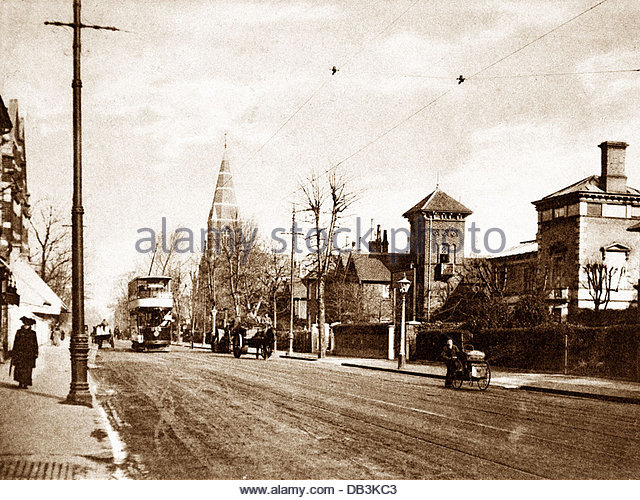 surbiton-ewell-road-early-1900s-db3kc3